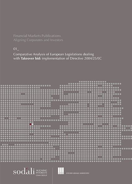 'Comparative Analysis of European Legislation dealing with Takeover Bids'