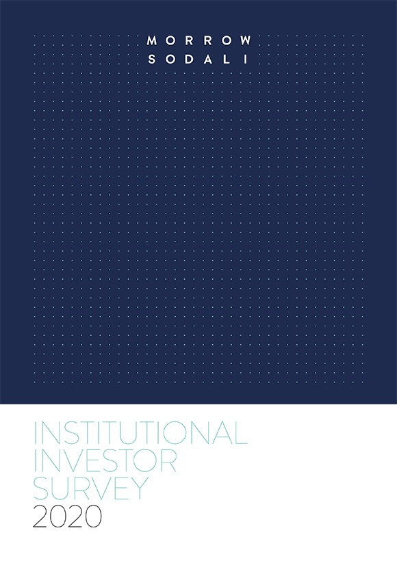 INSTITUTIONAL INVESTOR SURVEY 2020